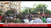 19/07/2014 - Palermo, minuto silenzio per commemorare strage Via D'Amelio