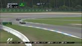 20/07/2014 - Contatto e problema all'alettone anteriore per Raikkonen