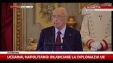 22/07/2014 - Riforme, Napolitano: importanti come quella sul lavoro