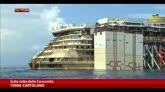 24/07/2014 - Concordia verso Genova, oggi percorse 80 miglia
