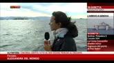 27/07/2014 - Concordia a Genova, tra poco il cambio del rimorchiatore