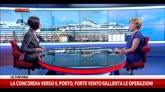 27/07/2014 - Concordia a Genova, intervista a Patrizia Perilli