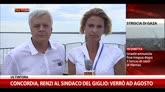 27/07/2014 - Concordia a Genova, intervista a Gian Luca Galletti