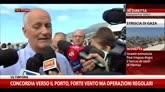 """27/07/2014 - Concordia, Gabrielli: """"Intorno alle 14 sarà in sicurezza"""""""