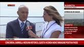 27/07/2014 - Concordia a Genova, atteso Matteo Renzi