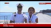 27/07/2014 - La Concordia nel porto di Genova, operazioni regolari