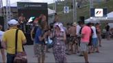 27/07/2014 - GP Ungheria, musica nel paddock in attesa della gara