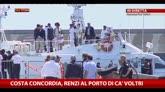 27/07/2014 - Costa Concordia, Renzi al porto di Prà-Voltri