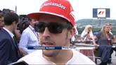 """28/07/2014 - Ungheria, Alonso: """"Un podio che ha il sapore di vittoria"""""""
