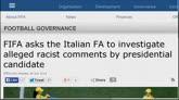 """Caso Tavecchio, lettera della Fifa: """"Figc deve indagare"""""""