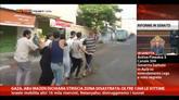 31/07/2014 - Gaza, Abu Mazen dichiara striscia zona disastrata