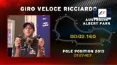 31/07/2014 - F1, Ricciardo racconta il giro veloce ad Albert Park