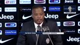 """31/07/2014 - Evra: """"Juventus la scelta giusta, vinciamo il campionato"""""""