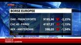 01/08/2014 - Borse Europee in rosso, Piazza Affari perde l'1%