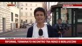 06/08/2014 - Riforme, terminato incontro tra Renzi e Berlusconi