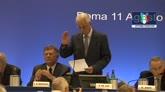 11/08/2014 - Tavecchio presidente FIGC, le parole di Pasquale De Lise