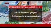 12/08/2014 - Istat, inflazione rallenta ancora a luglio dello 0,1%