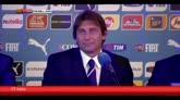 19/08/2014 - Conte: emozionato e orgoglioso della nazionale