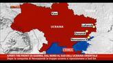 28/08/2014 - Tre fronti di guerra dal nord al sud dell'Ucraina Orientale