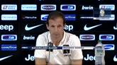 """29/08/2014 - Allegri: """"Vidal resta con noi. E con il Chievo parte dal 1'"""""""