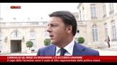 """30/08/2014 - Consiglio UE, Renzi su Mogherini: """"C'è accordo unanime"""""""