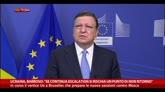 Ucraina, Barroso: se escalation rischio punto di non ritorno