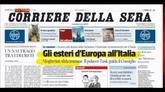 31/08/2014 - Rassegna stampa nazionale (31.08.2014)