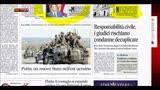 Rassegna stampa nazionale (01.09.2014)