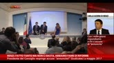 Renzi: fatto tanto ma non ci basta, abbiamo fame di riforme