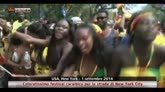Coloratissimo festival caraibico per le strade di New York