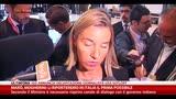 Marò, Mogherini: li porteremo in Italia il prima possibile