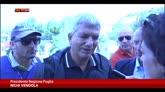 07/09/2014 - Alluvione Gargano, Vendola incontra i sindaci