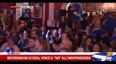 """Referendum Scozia, vince il """"no"""" all'indipendenza"""