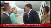 Usa, Renzi visita i colossi della Silicon Valley