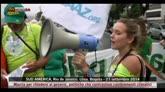 Sud America, marcia per contrastare i cambiamenti climatici