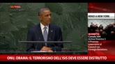 24/09/2014 - Onu, Obama: il terrorismo dell'Isis deve essere distrutto