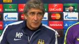 """29/09/2014 - Manchester City, Pellegrini: """"Importante battere la Roma"""""""