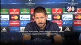 """30/09/2014 - Atletico, Simeone: """"Contro la Juve sarà come una finale"""""""