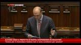 Alfano: oggi il prefetto di Napoli sospenderà De Magistris