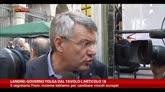 05/10/2014 - Landini: governo tolga dal tavolo l'Articolo 18
