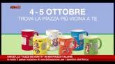 "Unicef, le ""tazze dei diritti"" in 900 piazze italiane"
