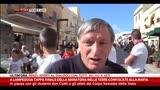 A Lampedusa don Ciotti in piazza con gli studenti
