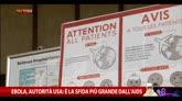 09/10/2014 - Ebola, autorità Usa: è la sfida più grande dall'Aids