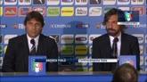 """09/10/2014 - Nazionale, Pirlo: """"Di nuovo qui per merito di Conte"""""""