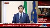 17/10/2014 - Russia-Ucraina, Renzi: incontro positivo, ma serve tempo