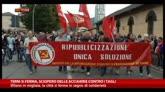 17/10/2014 - Terni si ferma, sciopero delle acciaierie contro i tagli