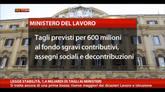 Legge Stabilità, 1,4 miliardi di tagli ai Ministeri