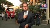 20/10/2014 - L'arrivo del Bayern a Roma. Benatia non giocherà