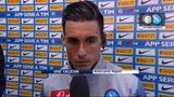 20/10/2014 - Napoli, delusione per la vittoria sfumata contro l'Inter