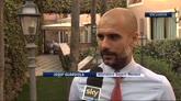 """Guardiola: """"Un piacere veder giocare questa Roma"""""""